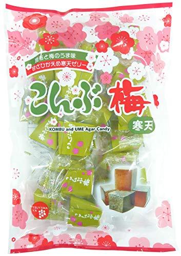 津山屋製菓 こんぶ梅 220g ×12袋