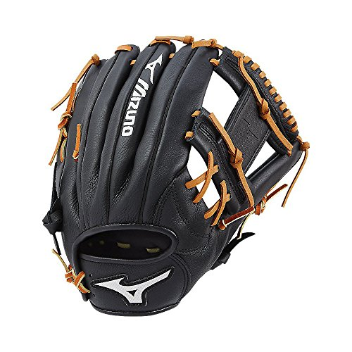 Mizuno Prospect Select Gpsl1150 Youth Utility 312578 Baseball Mitts, Size 11.5, Black