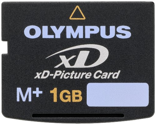 Olympus M+ 1 GB xD-PictureCard Flash Memory Card 202331 1 Removable Reusable 1.5x faster than type M