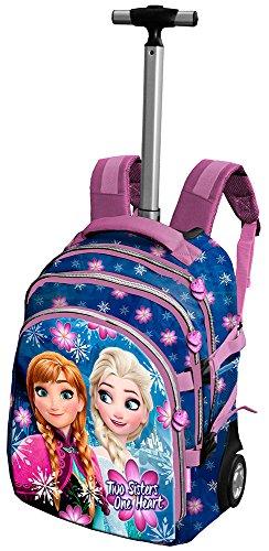Frozen Disney - Valigia Trolley Soft Blue star novita' autunno 2016
