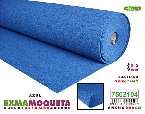 MOQUETA Azul, Ancho 200 cms
