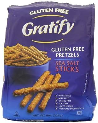 Gratify Gluten Free Pretzel Sticks