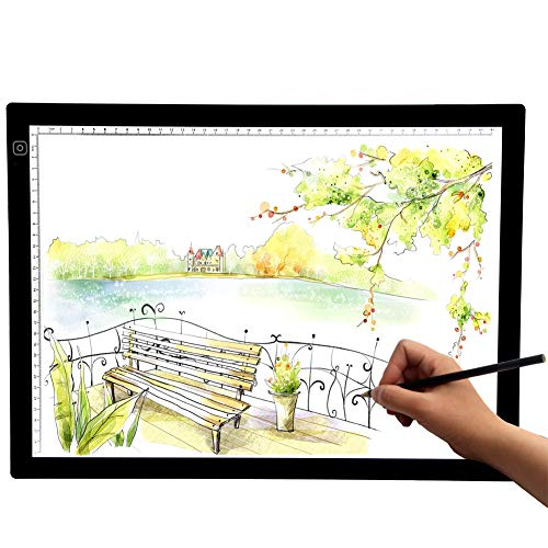 Sun Cling A3 LED Light Box Tracer Portable Art Box Light Pad Board Tablet LED-Light-Table-Board-Box