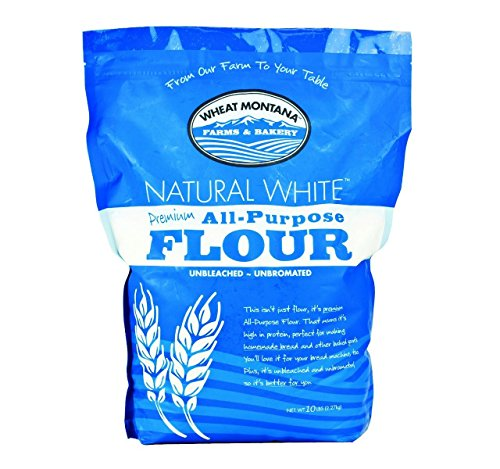Wheat Montana All Purpose White Flour (Pack of Two – 10 Lb. Bags)