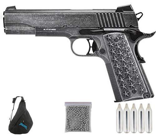 Sig Sauer WTP blowback. | Pack Pistola de balines (perdigones Bolas de Acero BB's). Arma de Aire comprimido CO2 Calibre 4,5mm <3,5J