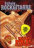 Escuela el Guitarra rock Banda 2 CD) Incl. Pick de guitarra y extraíble Cuaderno de...
