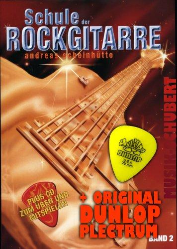 School van de rockgitaar Band 2 (+CD) incl. plectrum en uitneembare tabulatuurboekje - met nummers van Nirvana, Lenny Kravitz, Santana, Linkin Park, Led Zeppelin en nog veel meer. (School van de rockgitaar) van Andreas Bilhut (zakboek - 2004) (Noten/Sheetmusic)