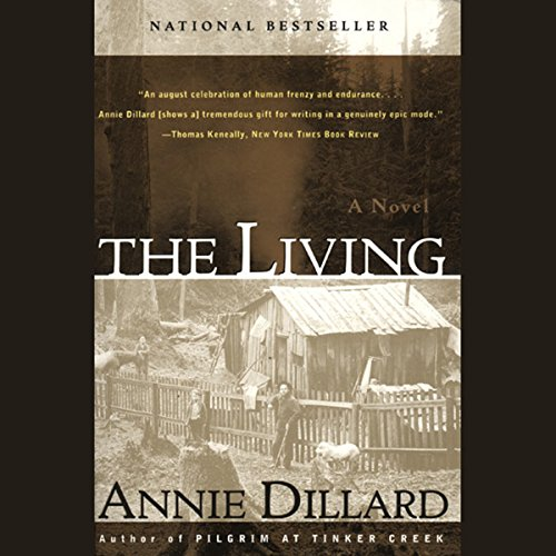 The Living audiobook cover art