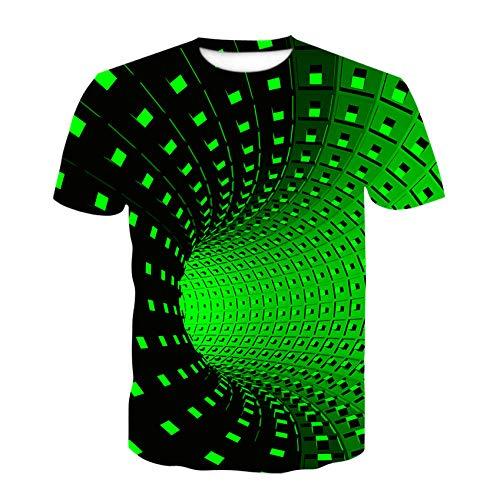 New Swirl Kurzarm T-Shirt Sommer Herren T-Shirt Herren Casual Top 3Dt-Shirts Fashion O-Neck Shirt Large Size Streetwear-Ac-91_Xs