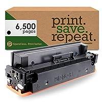 印刷。保存。繰り返します。HP cf410X ( 410x )ブラック高イールドリサイクルトナーカートリッジColor LaserJet m377、m452、m477[ 6,500ページ]