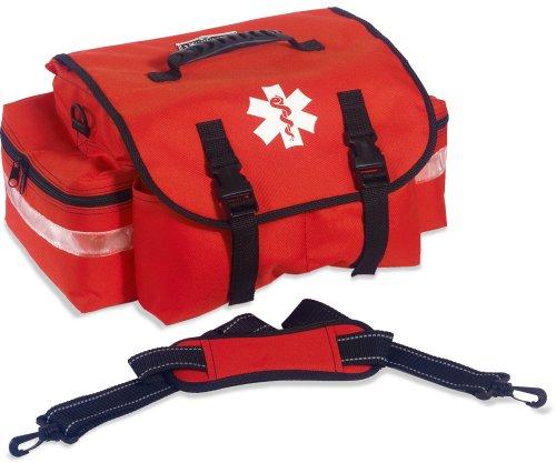 Ergodyne Arsenal 5210 Small Medic First Responder Trauma Duffel Bag with Shoulder Strap, Orange