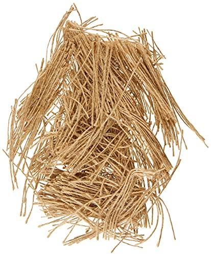 Arquivet Hilo de Yute para nidos de pájaros - Accesorios para nidos de Aves -Construir casa para pájaros - Accesorios para jaulas y pajareras - Nidos cómodos para pájaros - 20 g