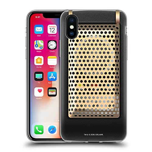 Head Case Designs Officially Licensed Star Trek Communicator Closed Gadgets Soft Gel Case Compatible with Apple iPhone X/iPhone Xs