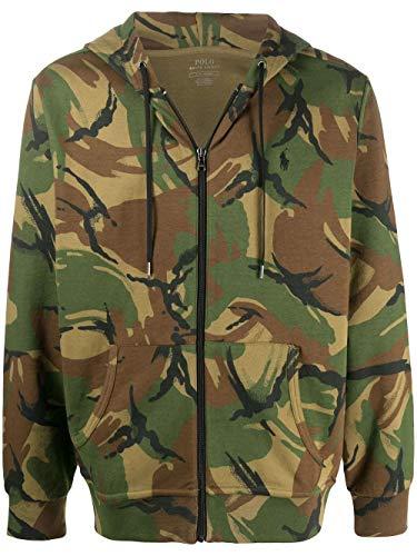 Ralph Lauren Luxury Fashion Herren 710790677001 Grün Baumwolle Sweatshirt | Frühling Sommer 20