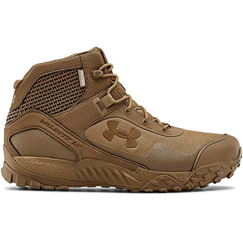 Under Armour Men's Valsetz RTS 1.5 5-inch Waterproof Military and Tactical Boot, Coyote Brown (200)/Coyote Brown, 13 M US