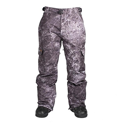 Ride Snowboard Outerwear Men's Phinney Shell Pants, Black, Large