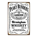 Hunnry Birmingham Whiskey Poster Metall Blechschilder Retro