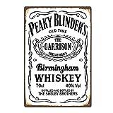 Birmingham Whiskey Blechschilder Vintage Metall Poster