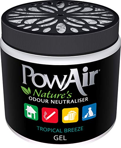 PowAir All-Natural Odor Neutralizer Gel (Tropical Breeze)