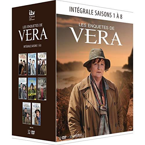 Les Enquêtes de Vera - Intégrale saisons 1 à 8 [Francia] [DVD]