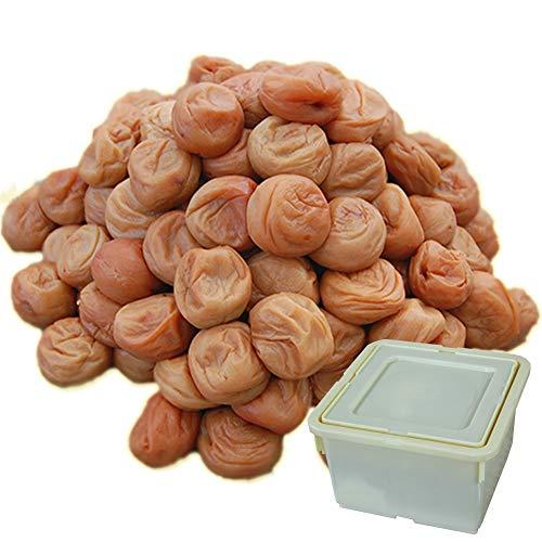 ふみこ農園 紀州南高梅たっぷり3kg しそ漬け梅(塩分15%)