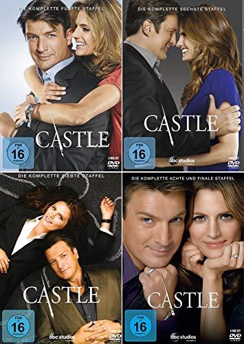 Castle - Die komplette 5. - 8. Staffel [24-Disc / 4-Boxen]