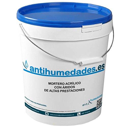 Mortero Acrílico con Áridos de altas prestaciones - 5 Kgs, Gris Cemento