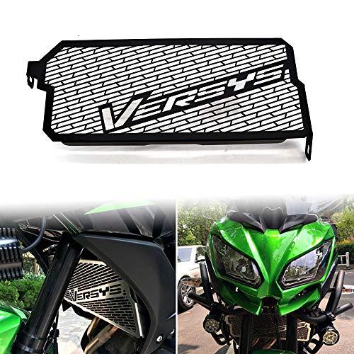 Accesorios de motocicleta, protector de parrilla de radiador para Kawasaki Versys 650, cubierta protectora de rejilla 2015, 2016, 2017, 2018, 2019, 2020
