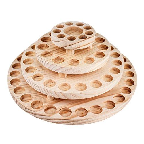 Support d'affichage d'huile essentielle, rotatif support de stockage d'huile essentielle support de stockage d'aromathérapie quatre boîte de stockage d'huile essentielle gestionnaire d'huile de bois h