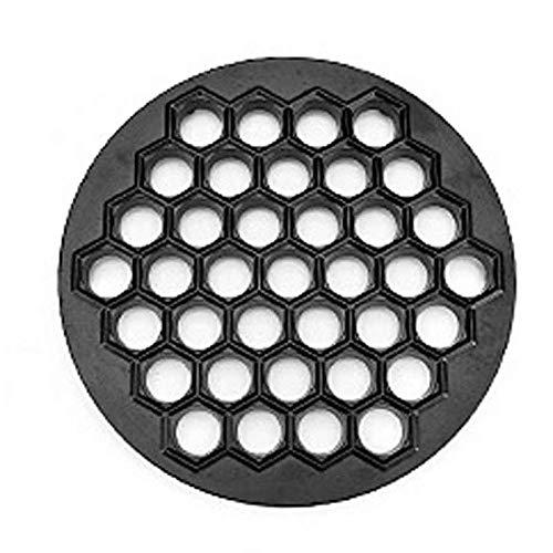GMMH Gefüllte Teigtaschen Ausstechform Teigform Pelmeniza Maultaschenformer Ravioliformer Pelmeni Form (Aluguß schwarz Beschichtet)