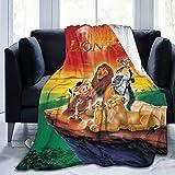 Ultra Soft Flannel Fleece Blanket The Lion King Stylish Bedroom Living Room Sofa Warm Blanket 50'x40'for Kids