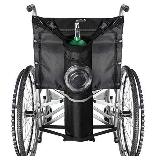 HYDDG Sauerstoffflaschenbeutel für medizinische Zwecke mit reflektierenden Streifen, für zu Hause, Krankenhaus D und E Sauerstofftanks