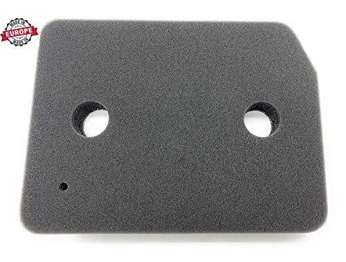 Filtro para secadora Miele® con bomba de calor, filtro de espuma, filtro de esponja, tamaño 207 x 155 x 28 mm (sustituye a 9164761) 1 Filtre