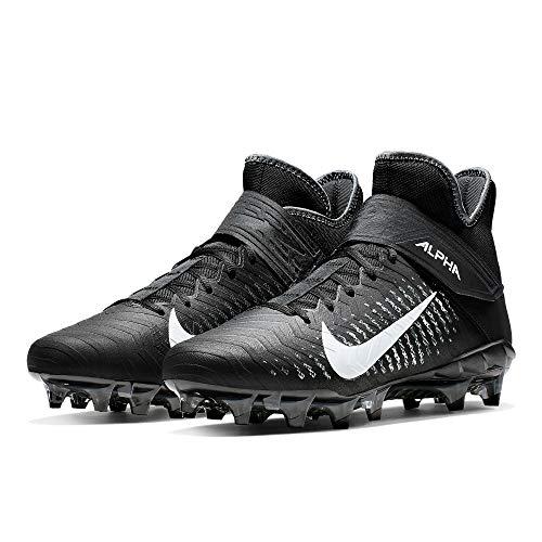 Nike Alpha Menace Pro 2 Mid American Football Rasen Schuhe - schwarz Gr. 13 US