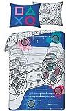 Halantex Playstation - Juego de cama (funda n贸rdica de 140 x 200 cm y funda de almohada)
