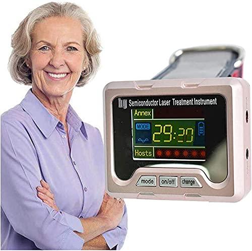 KELITINAus Therapie-Armbanduhr, Vaskuläre Behandlungsbehandlung Halbleiterbehandlungsinstrument, Nase-Überlastung Physiotherapiegeräte, Verstopfte Nase Reduzieren Sie Hypertonie Hyperglykämie Hyperli