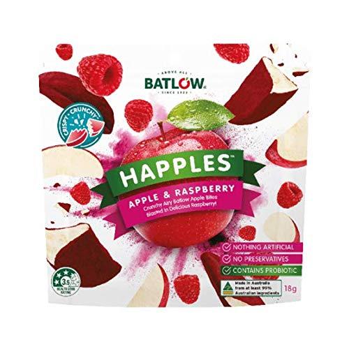 ハップルズ(HAPPLES)アップル&ストロベリー4袋 フリーズドライフルーツ (ラズベリー10袋)