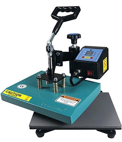 ePhotoInc New 9' x 12' Swing Away Digital T Shirt Heat Press Transfer Sublimation Machine T Shirt Heat Press Machine ZP9GB