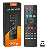 Aerb 2.4G Backlit Mini Wireless Keyboard Multifunctional Mouse W Infrared Remote...