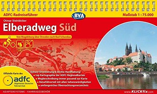 Preisvergleich Produktbild ADFC-Radreiseführer Elberadweg Süd 1:75.000 praktische Spiralbindung,  reiß- und wetterfest