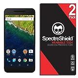 [2-Pack] Spectre Shield Screen Protector for LG Google Nexus 6P Case Friendly LG Google Nexus 6P Screen Protector Accessory TPU Clear Film