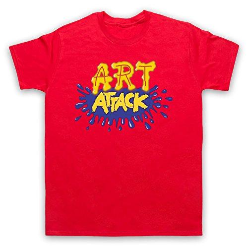 My Icon Art & Clothing Art Attack Kids TV Logo Buchanon Costume Camiseta para hombre