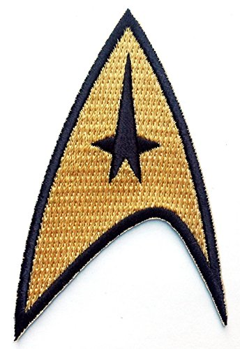 Titan One Europe - Starfleet Command Star Trek Costume Cosplay Patch Iron On Aufnäher Aufbügler Patch