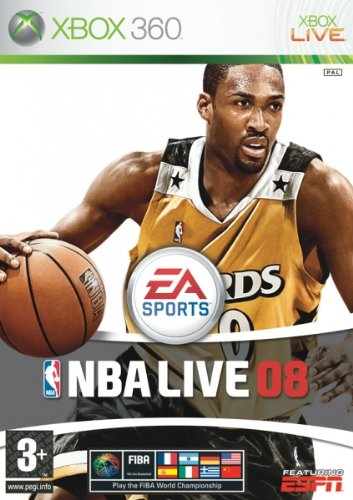 Electronic Arts NBA Live 08, Xbox 360