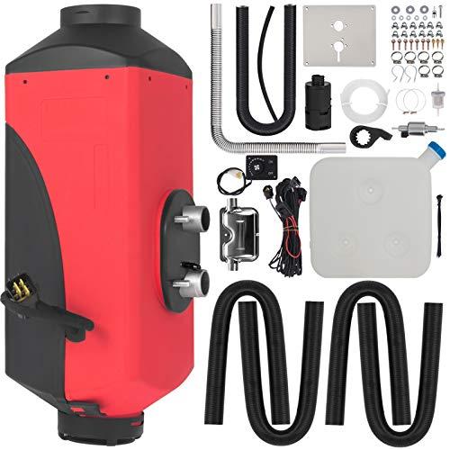HODOY Riscaldatore Digitale 2Kw 5Kw 8Kw Termostato Diesel Riscaldatore Elettrico 24V 12V Riscaldatore Elettrico a Gas Per Camper Camper e Autobus (12V 8Kw Con Silenziatore)