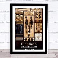 ファッション絵画ポスター - キングスマン Kingsman - 壁掛け 壁飾り - 43x33cm(額縁を送る)