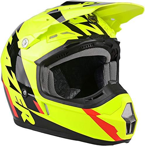 Lazer Helm X7 Whip Cross Motard Enduro Off Road ATV Quad MX Motorrad neongelb S
