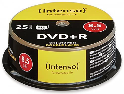 Intenso 25 x DVD+R DL - 8.5 GB 8x - Spindel