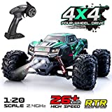 VATOS Remote Control Car RC Car High Speed Off-Road Vehicle 1:20 Scale 26km/h 4WD 2.4GHz RC Monster Truck Electric...