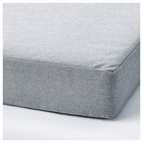 Tok Mark Traders SLÄKT - Puff/colchón plegable (193 x 62 x 9 cm, resistente y fácil de cuidar, camas individuales, camas infantiles, sofás y sillones, camas, respetuoso con el medio ambiente